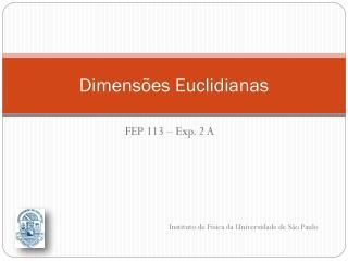Dimensões Euclidianas