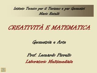 Istituto Tecnico per il Turismo e per Geometri Mario Rutelli