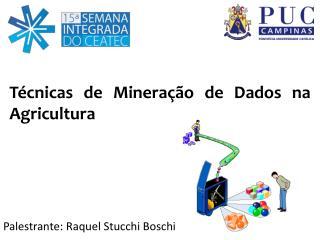 T�cnicas de Minera��o de Dados na Agricultura