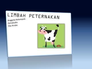 LIMBAH PETERNAKAN