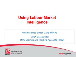 Using Labour Market Intelligence