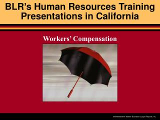 BLR's Human Resources Training Presentations in California