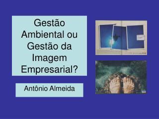 Gestão Ambiental ou Gestão da Imagem Empresarial?