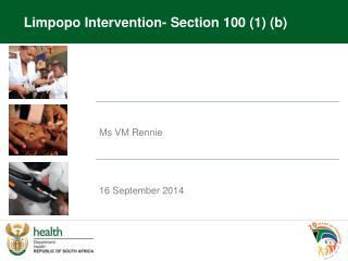 Ms VM  Rennie