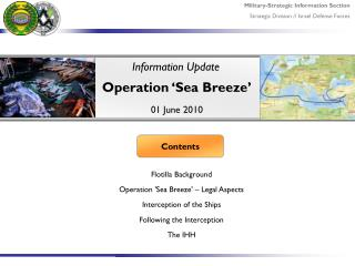 Operation 'Sea Breeze'