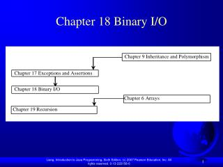 Chapter 18 Binary I/O