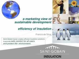 a marketing view of  sustainable development   efficiency of insulation