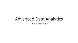 Regression Analysis Bivariate Data  Lecture 20