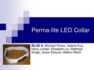 Perma-lite LED Collar