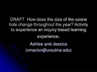 Ashlee and Jessica (vmarion@ursuline)