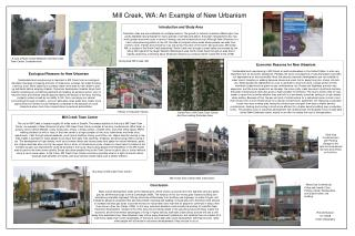 Mill Creek, WA: An Example of New Urbanism
