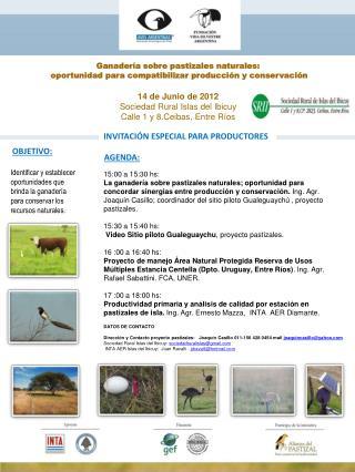 Ganadería sobre pastizales naturales:  oportunidad para compatibilizar producción y conservación