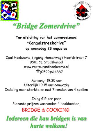 """Bridge  Zomerdrive"""