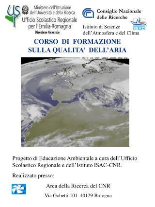 CORSO  DI  FORMAZIONE  SULLA QUALITA'  DELL'ARIA