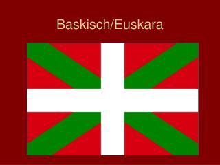 Baskisch
