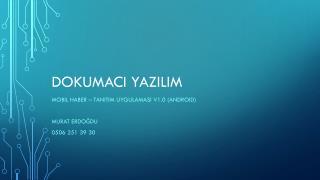 DOKUMACI  YazIlIm