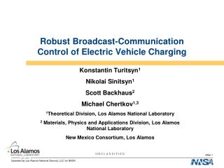 Robust Broadcast-Communication Control of Electric Vehicle Charging