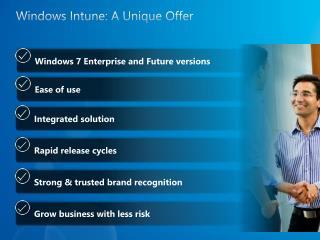 Windows  Intune : A Unique Offer