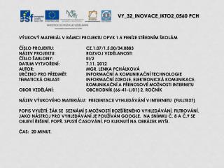 V Y_32_INOVACE_ IKTO2 _ 05 60  PCH