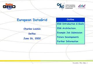 European DataGrid