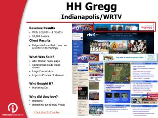 HH Gregg Indianapolis/WRTV