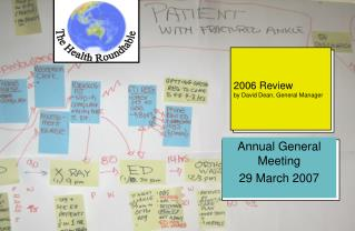 2006 Review by David Dean, General Manager