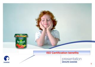 ISO Certification benefits