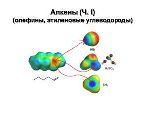Алкены  (Ч. I) (олефины, этиленовые  углеводороды)