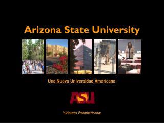 Una Nueva Universidad Americana