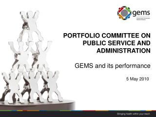 PORTFOLIO COMMITTEE ON PUBLIC SERVICE AND ADMINISTRATION GEMS and its performance