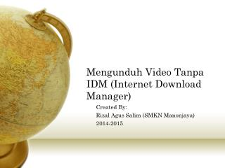 Mengunduh Video Tanpa IDM (Internet Download Manager)