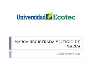 MARCA REGISTRADA Y LITIGIO DE MARCA