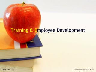 Training & E mployee Development