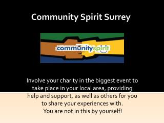 Community Spirit Surrey