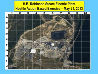 H.B. Robinson Steam Electric Plant  Hostile Action Based Exercise � May 21, 2013