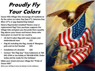 Proudly Fly Your Colors