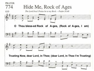 O   Thou bless-ed Rock   of   A-ges,  (Rock  of  A-ges,  I   am)