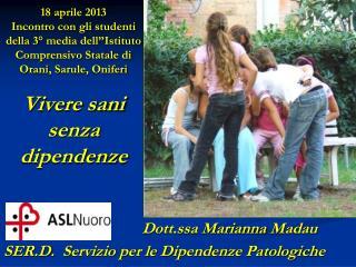 Dott.ssa Marianna  Madau