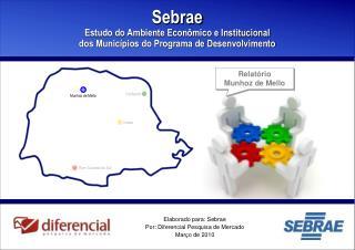 Elaborado para: Sebrae Por: Diferencial Pesquisa de Mercado Março de 2010