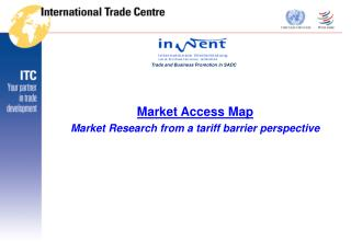 Market Access Map Market Research from a tariff barrier perspective