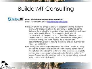 BuilderMT Consulting