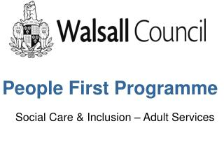 People First Programme