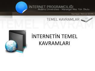 INTERNETIN TEMEL KAVRAMLARI