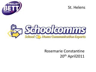 Rosemarie Constantine  20 th  April2011