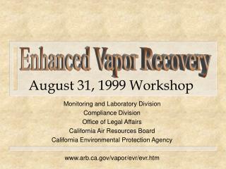 August 31, 1999 Workshop