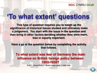 'To what extent' questions