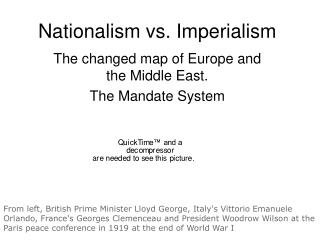 Nationalism vs. Imperialism