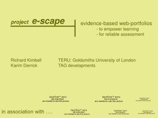 project e-scape