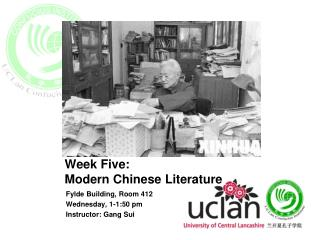 Week Five:  Modern Chinese Literature