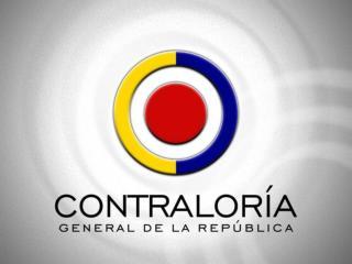 CONTRALORÍA GENERAL DE LA REPÚBLICA CONTRALORÍA DELEGADA PARA EL SECTOR AGROPECUARIO